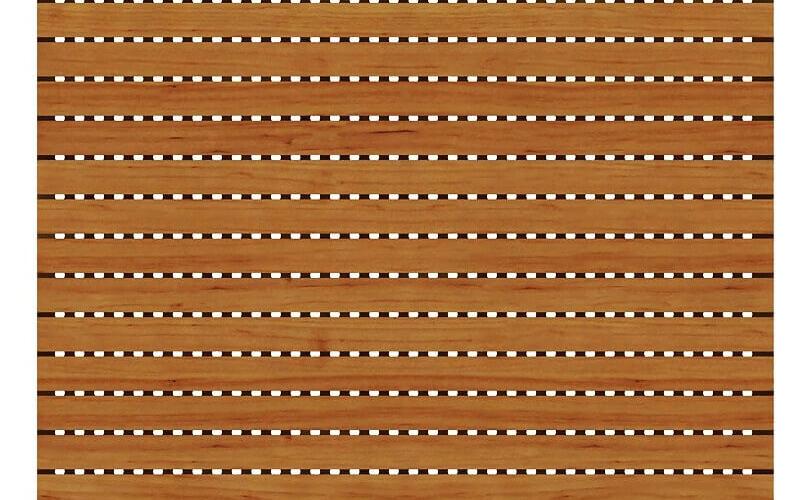 2000 Delikli Akustik Ahşap Panel