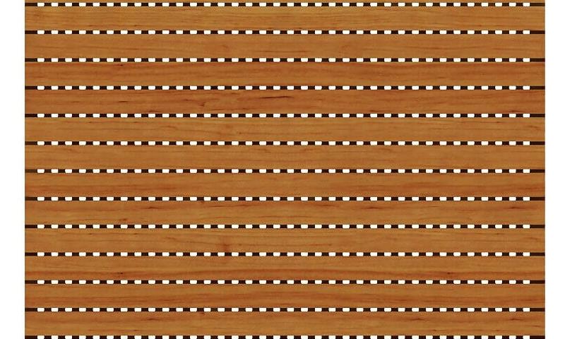 4000 Delikli Akustik Ahşap Panel